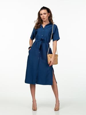Платье синее | 5461980