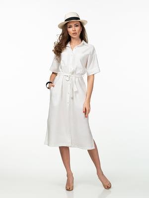 Платье бело-молочного цвета | 5461983