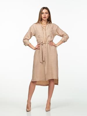 Платье бежевое | 5461984