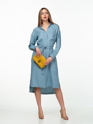 Платье голубое | 5461985