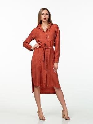 Платье терракотового цвета | 5461988