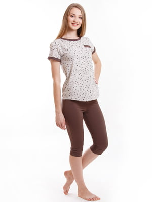 Комплект: футболка и бриджи | 5462092