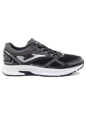 Кросівки бігові чорно-білі   5462123