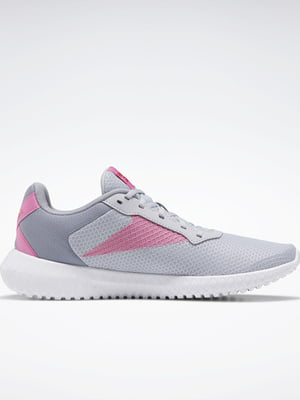 Кроссовки серо-розовые | 5352280