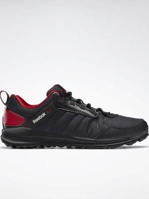 Кроссовки черно-красные | 5462040