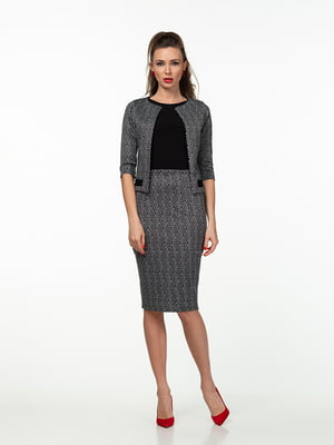 Костюм: юбка, топ и жакет | 5462006