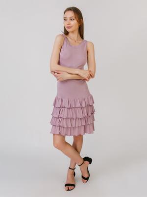 Платье сиреневого цвета | 5461114