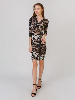 Сукня різнокольорова в принт | 5461112