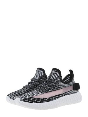 Кроссовки черно-белые | 5454454