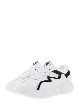 Кроссовки бело-черные | 5458080