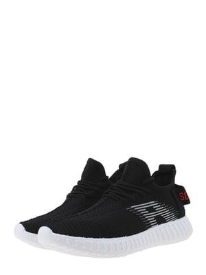Кроссовки черно-белые | 5458082