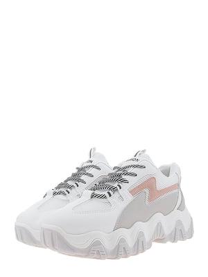Кроссовки бело-серые | 5458110