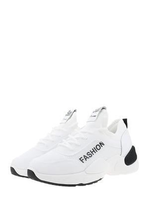 Кроссовки бело-черные | 5460840