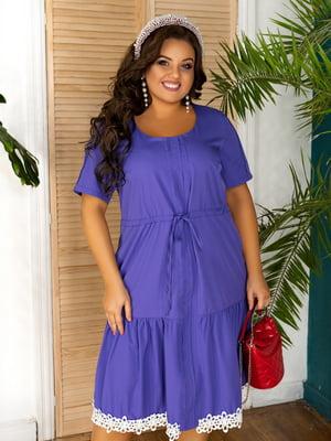Платье фиолетовое | 5464323
