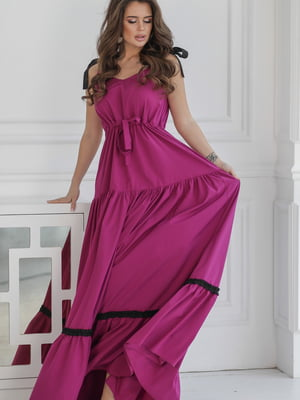 Платье цвета фуксии | 5464346