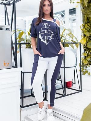 Костюм: блуза і штани | 5464373