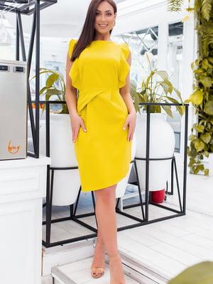 Платье желтое   5464383
