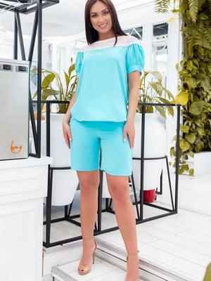 Костюм: блуза і шорти | 5464421