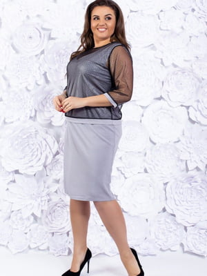 Комплект: сукня і накидка | 5464119