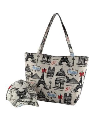 Набор: сумка и бейсболка | 5464520
