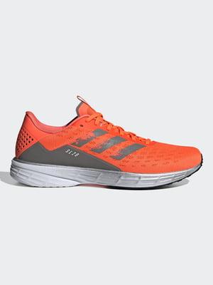 Кросівки помаранчево-сірі | 5463268