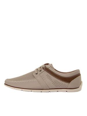 Туфлі бежеві | 5464770