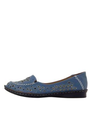 Туфлі сині | 5464840