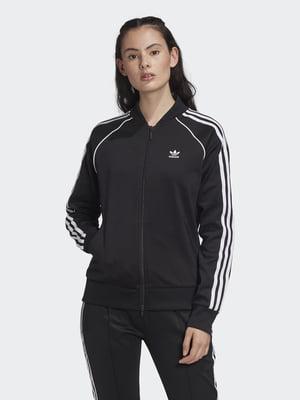 Олимпийка черно-белая   5463540