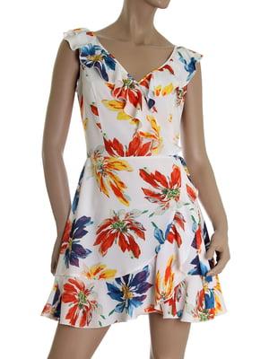 Платье в цветочный принт | 5464919
