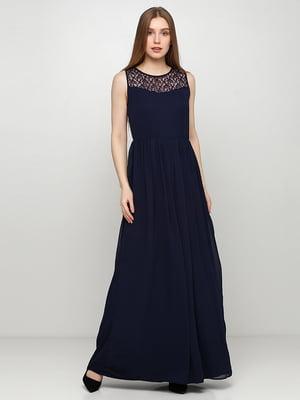 Платье темно-синее | 5465035