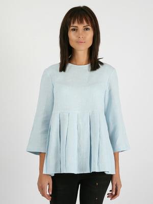 Блуза голубая | 5465110