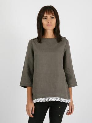 Блуза серая | 5465111