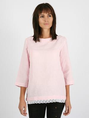 Блуза цвета пудры | 5465125