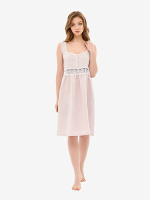 Сорочка нічна кольору димної троянди | 5465160