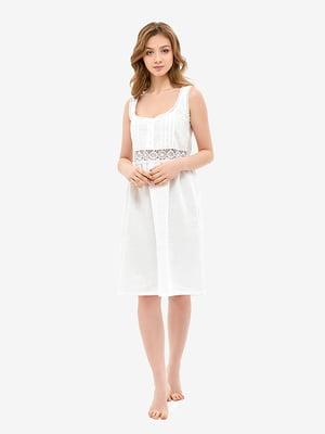 Сорочка нічна біла | 5465161
