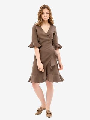 Халат коричневий | 5465164
