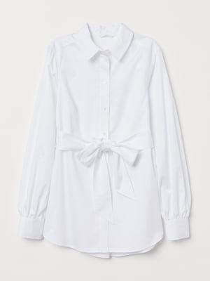 Рубашка для беременных белая | 5465426