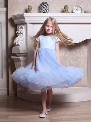 Платье голубое | 5465231