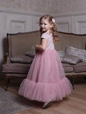 Сукня кольору пудри | 5465235
