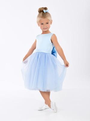 Платье голубое | 5465239