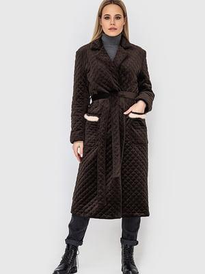 Пальто коричневе | 5465119