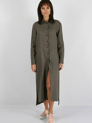 Платье серое | 5465106