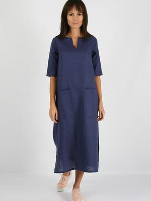 Платье синее | 5465101
