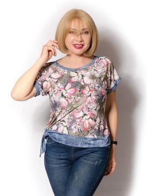 Блуза в принт | 5466778
