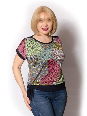 Блуза в принт | 5466780