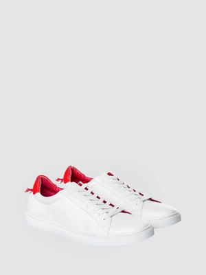 Кеды бело-красные | 5467121