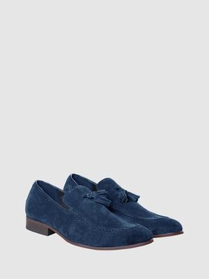 Лоферы синие | 5467130