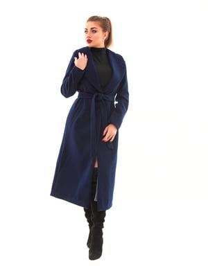 Пальто синє | 5467204