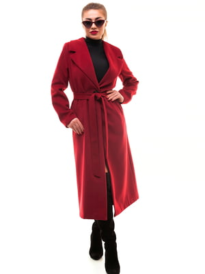 Пальто бордове | 5467207