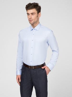 Рубашка голубая | 5467429